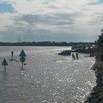 Toujours impressionnant la montée des eaux!!!