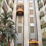 The elevators at St. Raphael's