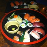 The nicest part was the Nigiri although nothing ground breaking