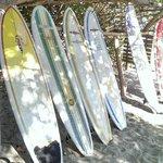 Samara beach - very little surf though