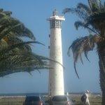 Vom Hotel aus zu sehen - der Leuchtturm