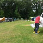 the camping main field