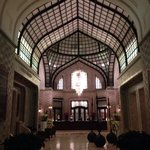 Lobby in the afternoon. I took this photo with my iPhone so unfortunately the light does NOT do