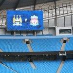 stadium - match prep for Monday
