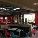 restaurant Courtepaille Comptoir