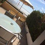 terrazzo camera vista mare