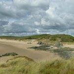 Llandwyn Island, Anglesey with Newborough Beach to the right