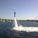Hire out flyboard at Björkö