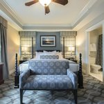 Luxurious linens and decor in our Signature Collection villas