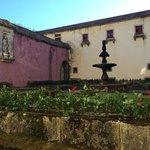 ancien monastère vue cours intérieure