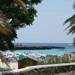 Stranden tæt ved hotellet