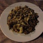 pasta tartufo