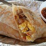 Breakfast burrito #delish #BX