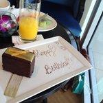 festa de aniversario no café