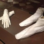 chaussures et gants de l'impératrice Sissi