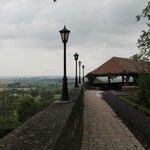 Castle perimiter walkway