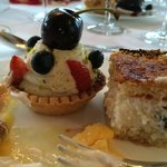 Great food and desserts
