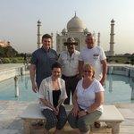 A visit to the Taj Mahal