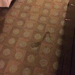 Manchas sin limpiar de visitantes anteriores