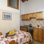 kitchen Chalet Bellavista Livigno