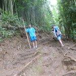 Muddy hike!
