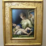 PARMIGIANINO 1503-1540 Maria mit dem kind (Maria with the child)