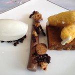 Malt dessert