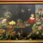 Frans Snyders  1579-1657 OBST UND GEMUSELADEN  (Fruit and vegetable store)