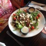 Large entree salad