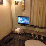 Bathroom television