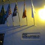 Monasterio Hotel entrance