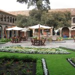 Courtyard at the Monasterio Hotel