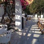 Espace restaurant/piscine