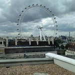 View of London Eye from Room 1302