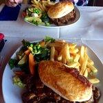 Loch Nessie hotpot pie