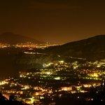Vista desde la habitacion Vesuvio!