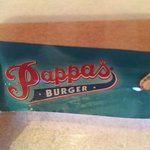 First time at Pappas Burger...