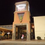 Saliendo de Imperial Valley Mall
