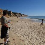 Beach looking East.