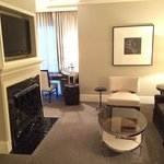 Sitting area of the Waldorf Suite.