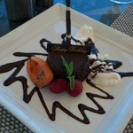 Complimentary Birthday cake at The Bistro!
