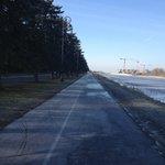 дорога вдоль Гребного канала