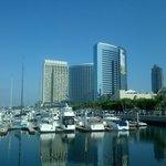 Hotel from marina promenade