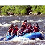 My gang of friends in Pocono White Water Rafting