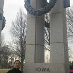 By  Monument of Iowa