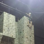 Rock climbing at WELL Spa & fitness on the grounds