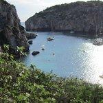 une des plages de l'île