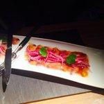 Delicious sea bass 'Nikkey style'