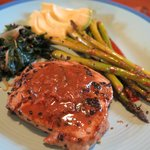 delicious tuna steak for my last night!