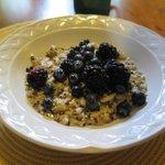oats and quinoa for brekkie
